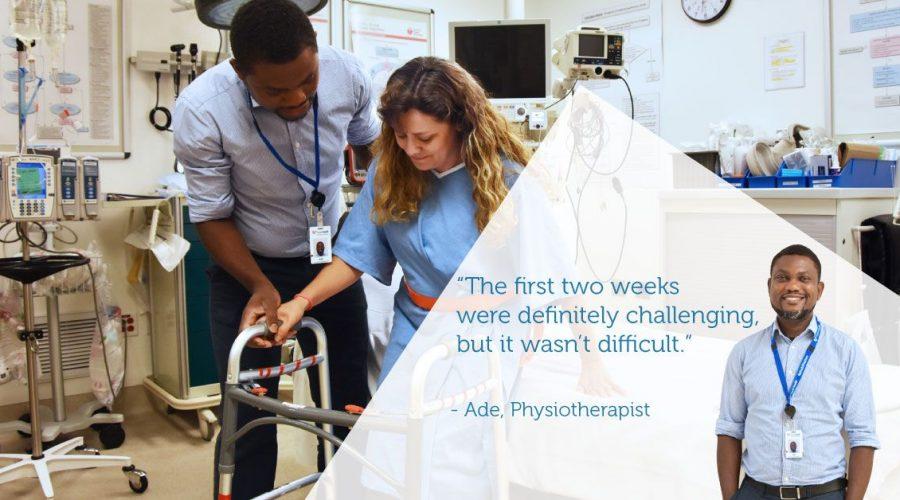 Fraser Health Physiotherapist