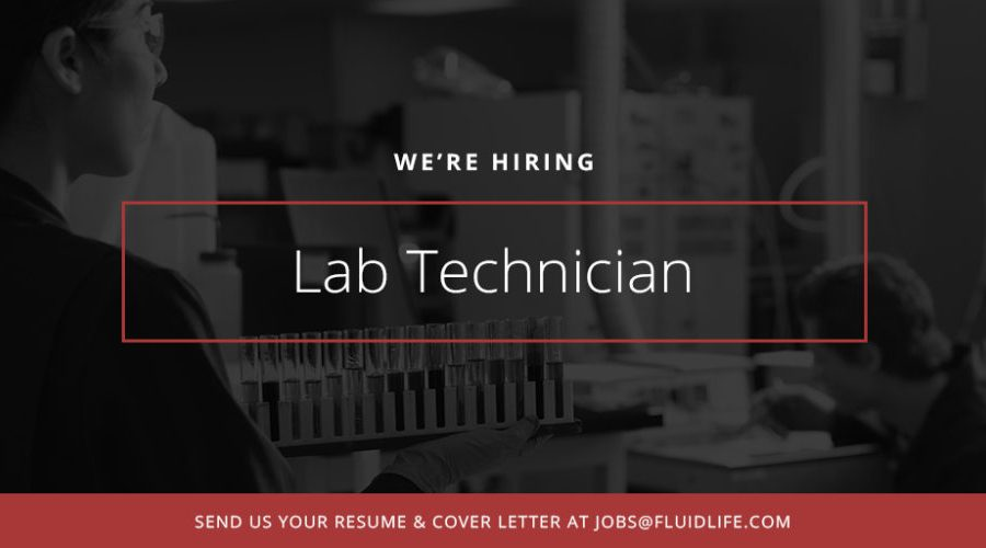 Lab Technician At Fluid Life