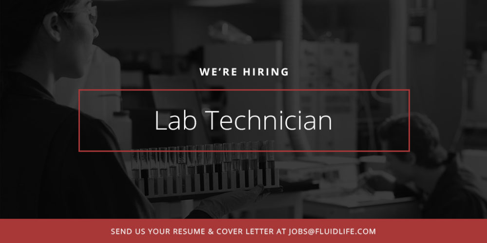Lab Technician At Fluid Life