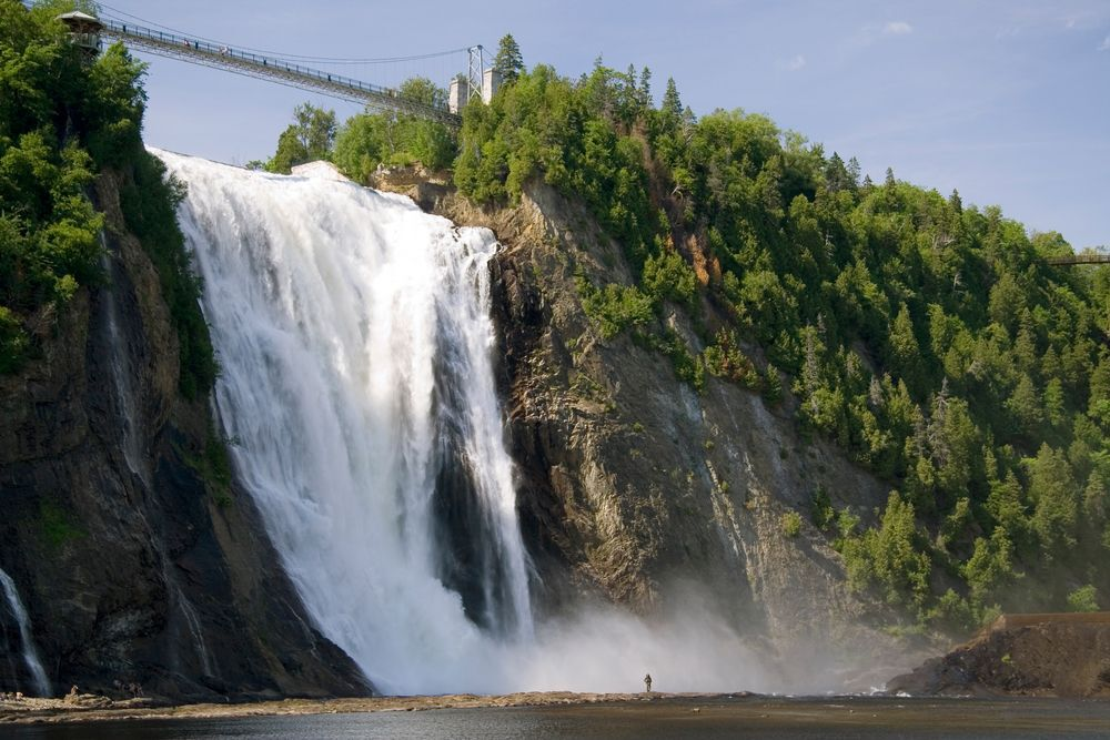 Canada waterfalls to Relax